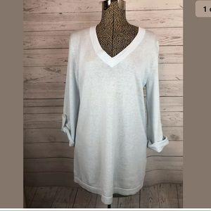 J.jill size medium linen blend pullover sweater